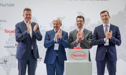 Henkel eröffnet neue Produktion für Baustoffe bei St. Petersburg