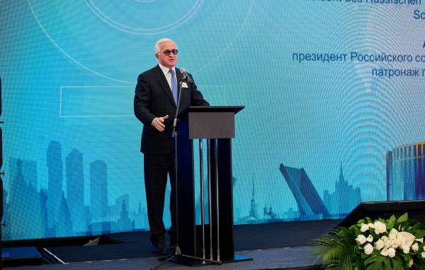 Präsident des Verbandes russischer Industrieller und Unternehmer RSPP Alexander Schochin