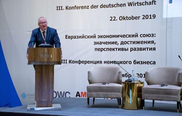 Dr. Tilo Klinner, Botschafter der Bundesrepublik Deutschland in Kasachstan