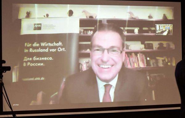Matthias Schepp, Vorstandsvorsitzender der Deutsch-Russischen Auslandshandelskammer