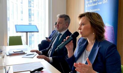 Moskauer Unternehmens-Ombudsfrau will Roadmap mit AHK
