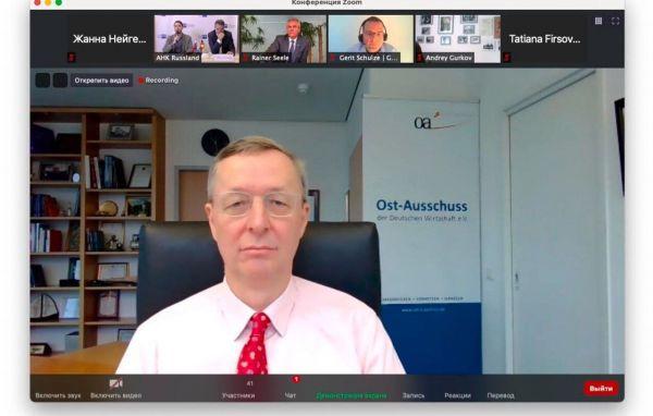 Michael Harms, Geschäftsführer des Ost-Ausschusses der Deutschen Wirtschaft e.V.
