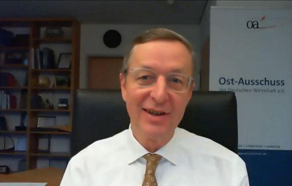 Michael Harms, Geschäftsführer des Ost-Ausschusses der Deutschen Wirtschaft