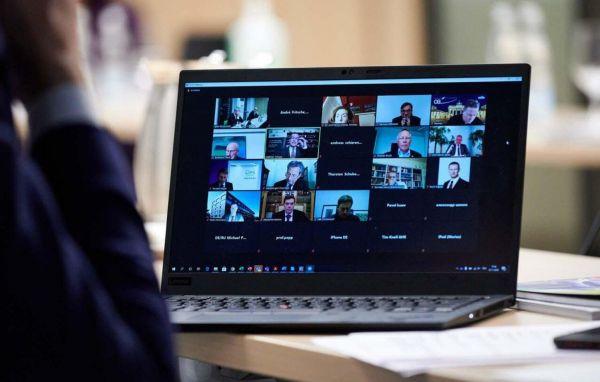 Online-Teilnehmer der Sitzung