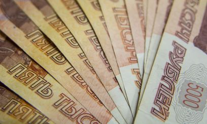 Corona-Talfahrt des Rubels