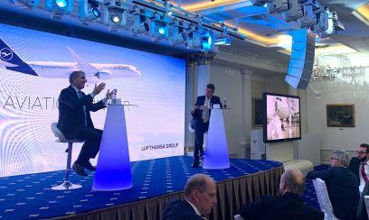 Aviation Dinner der Lufthansa in Moskau